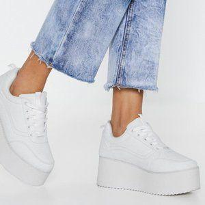 NEW Elevated Flatform Sneaker